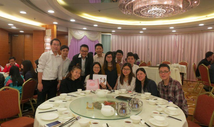公司聯誼活動 – 喜事慶祝