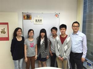 與理工大學學生分享企業管理