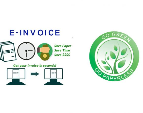 The change of e-Invoice and e-Official receipt