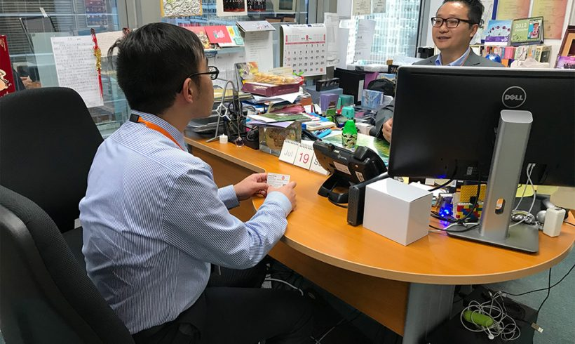 与香港耀能协会合作「工作情境体验计划」
