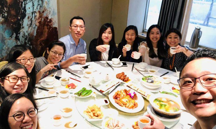 Company luncheon in June