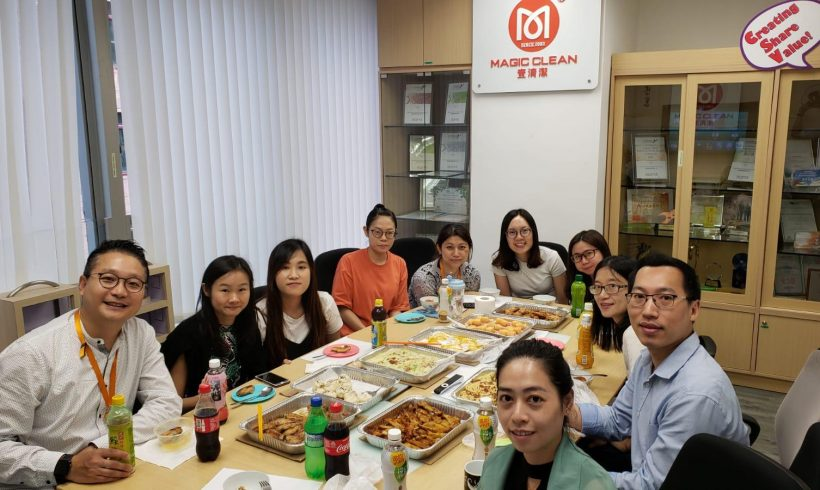 Company lunch in August