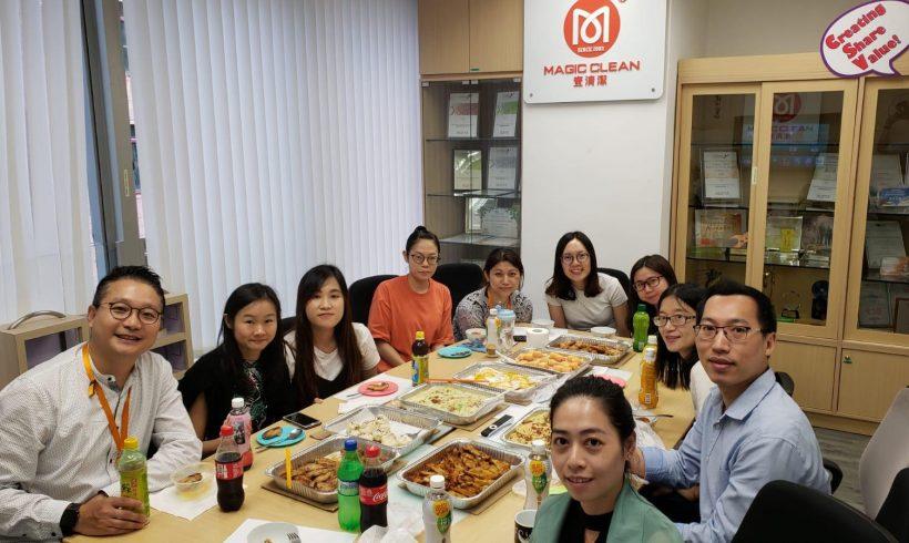 公司8月份聚餐