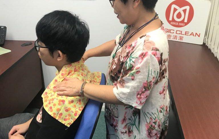 公司僱員福利-頭肩頸按摩 (2019年第3季)