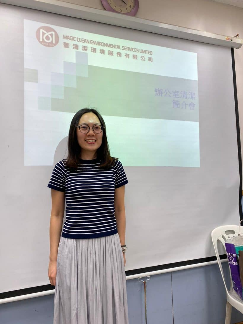 Attended the New Territories Association Retraining Center Foundation Certificate domestic helpers talks